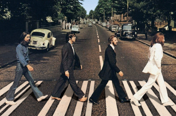 Beatles Abbey Road.